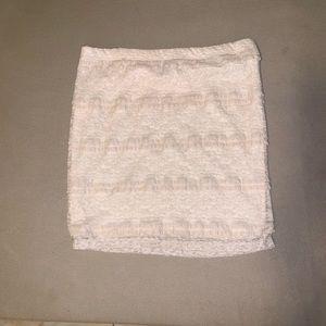 Forever 21 M lace skirt elastic waist